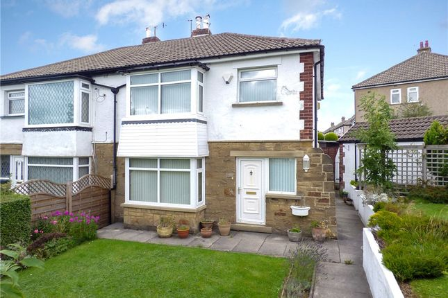 Thumbnail Semi-detached house for sale in Hill Foot, Nab Wood, Shipley, West Yorkshire
