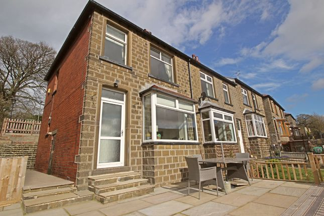 Thumbnail End terrace house for sale in Penistone Road, New Mill, Holmfirth