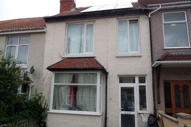 Thumbnail Terraced house to rent in Park Road, Northville, Bristol