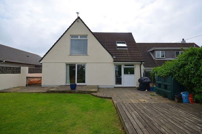 Thumbnail Detached house for sale in Highfield Road, Mount Hawke, Truro