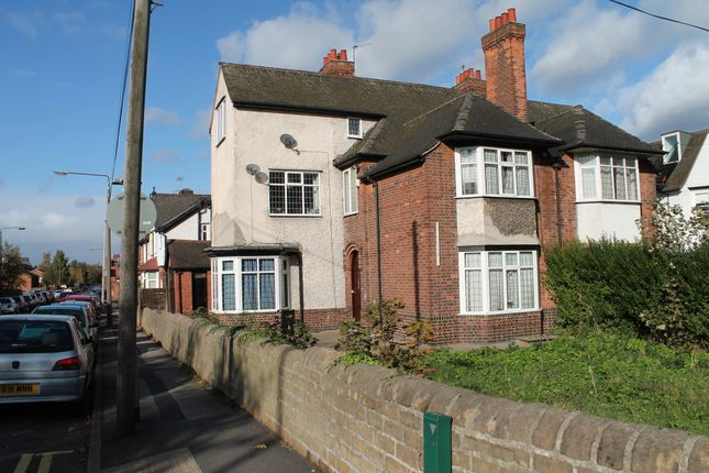 Thumbnail Semi-detached house to rent in Derby Road, Lenton, Nottingham