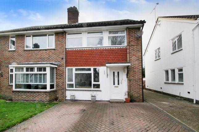 Thumbnail Semi-detached house for sale in Copse View, East Preston, West Sussex