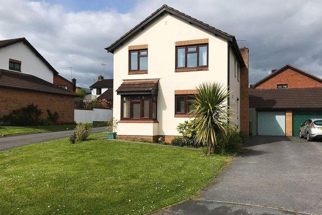 Thumbnail Detached house for sale in Troarn Way, Chudleigh, Newton Abbot