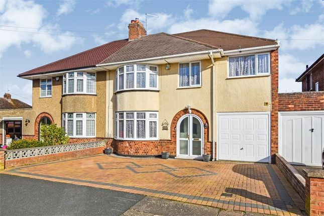 Thumbnail Semi-detached house for sale in Southfield Road, Duston, Northampton