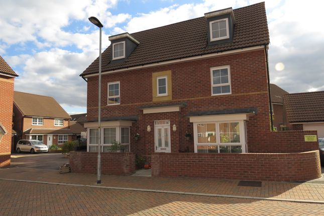 Thumbnail Detached house for sale in Rosemary Way, Melksham