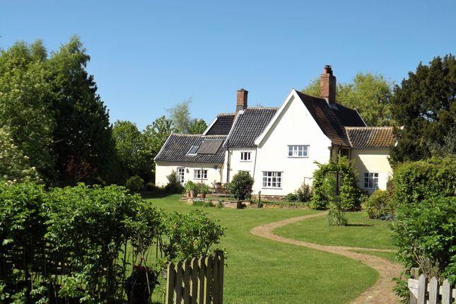 Thumbnail Farmhouse for sale in Henham Green Farm, Henham, Nr Southwold