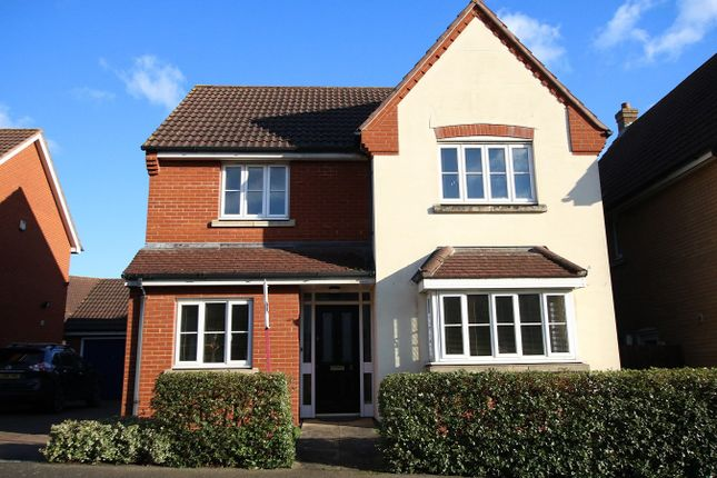 Detached house for sale in Linnet Drive, Stowmarket