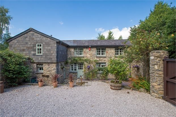 Thumbnail Barn conversion for sale in Howton Road, Highweek, Newton Abbot, Devon.