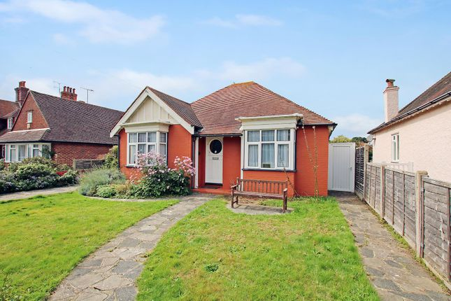 Thumbnail Detached bungalow for sale in Wallace Avenue, Worthing