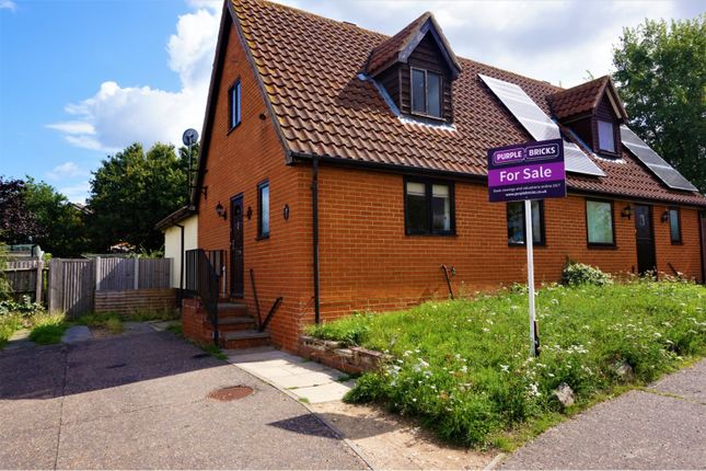 Thumbnail Semi-detached house for sale in Dixon Close, Manningtree