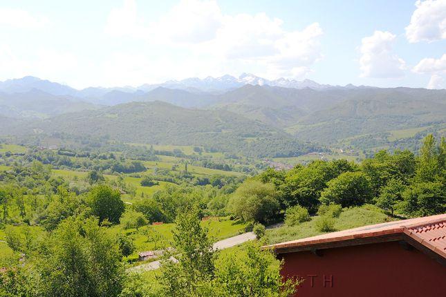Panoramic Views of Beceña, Cangas De Onís, Asturias, Spain