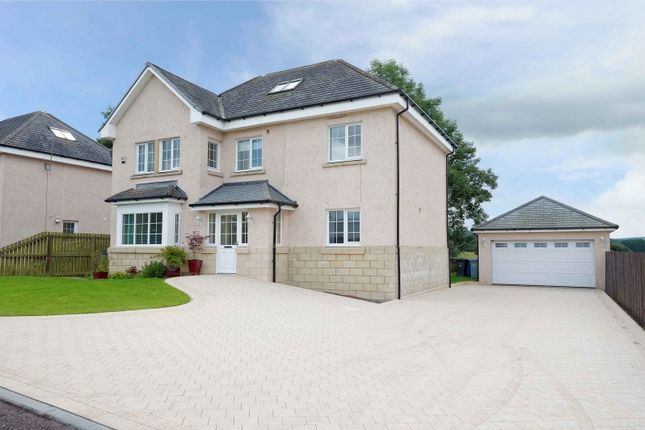 Thumbnail Detached house for sale in Cransley Gardens, Douglas, Lanark