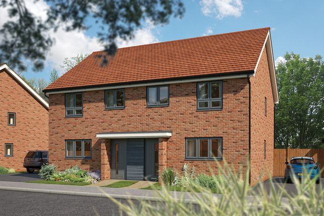 """3 bed terraced house for sale in """"The Rowan"""" at Fields Road, Wootton, Bedford MK43"""