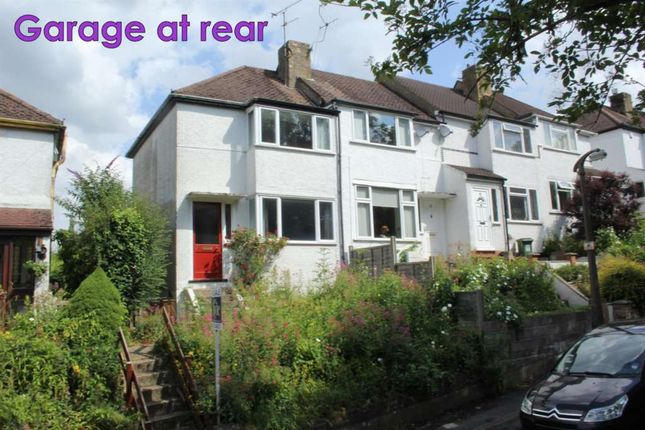 Thumbnail End terrace house to rent in Glenview Road, Boxmoor, Hemel Hempstead