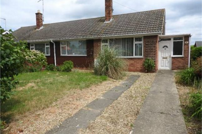 Thumbnail Semi-detached bungalow to rent in Kingsway, Bourne, Lincolnshire