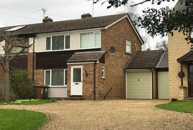 Thumbnail Link-detached house to rent in Church Hill, Castor, Peterborough