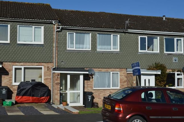 Thumbnail Terraced house to rent in Scafell Close, Taunton, Somerset