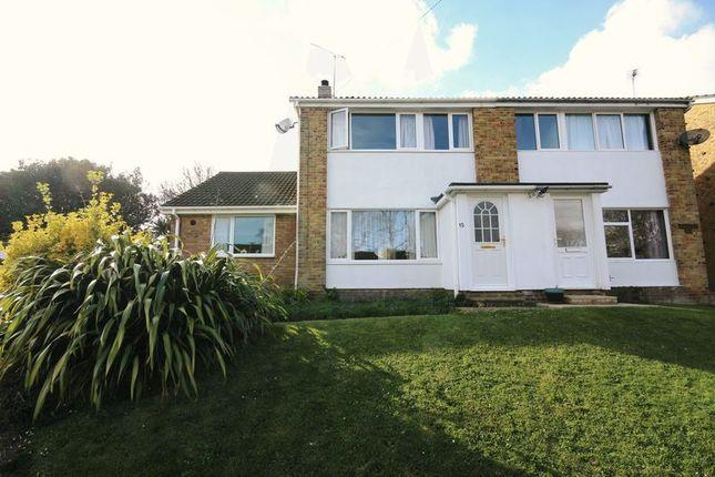 Thumbnail Semi-detached house for sale in Furzedale Park, Hythe, Southampton