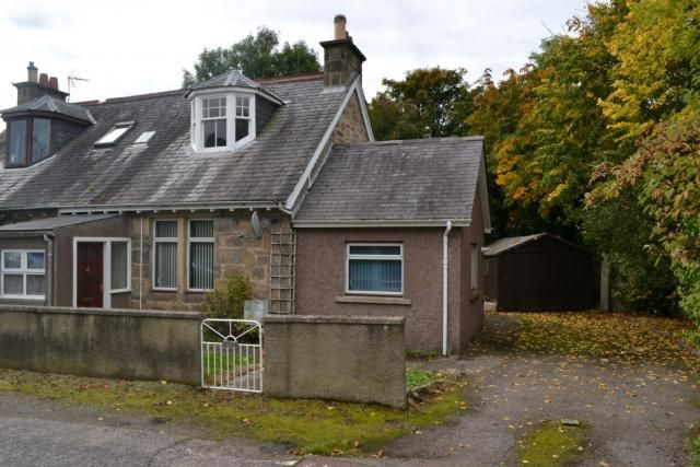 Thumbnail Semi-detached house for sale in The Neuk Invererne Road, Forres