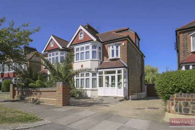 Thumbnail Semi-detached house for sale in Grange Park Avenue, Winchmore Hill, London