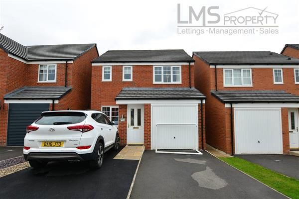 Thumbnail Detached house to rent in Rosemary Crescent, Winsford
