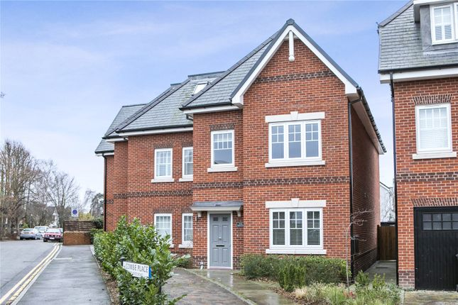Thumbnail Semi-detached house to rent in Combe Place, Cobham, Surrey