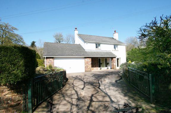 Thumbnail Detached house for sale in Huntsham, Tiverton