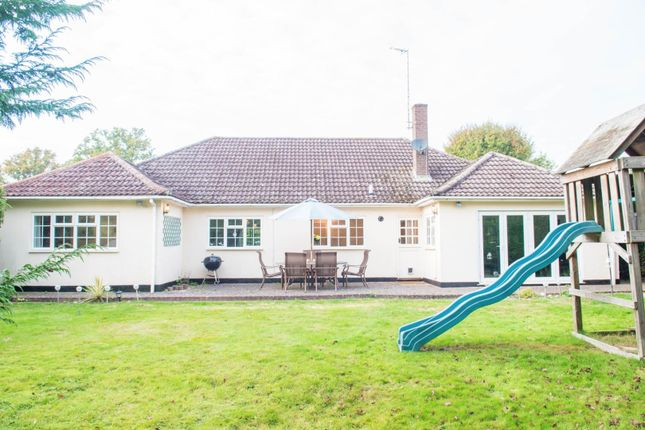 Thumbnail Detached bungalow for sale in Broadmead, Hook End, Brentwood