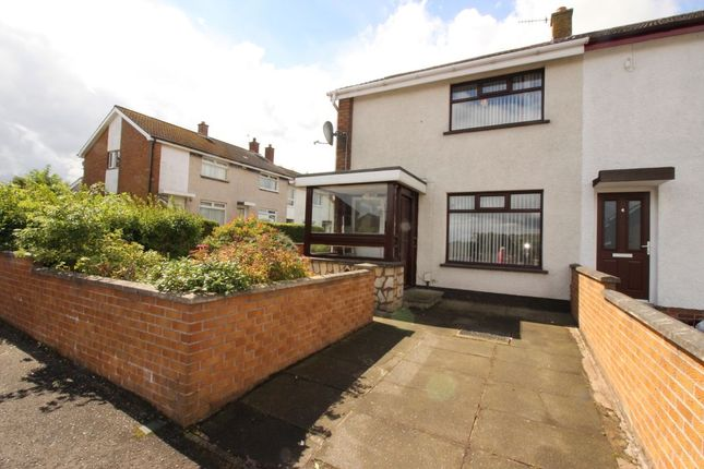 Thumbnail Terraced house to rent in Plantation Avenue, Newtownabbey