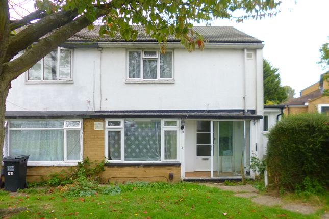 Thumbnail End terrace house to rent in Haseldine Meadows, Hatfield