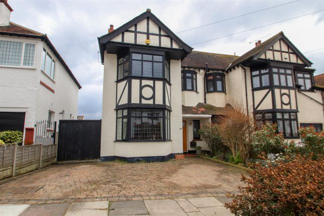 Thumbnail Semi-detached house for sale in Kent View Avenue, Leigh-On-Sea