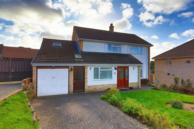 Thumbnail Detached house for sale in Llyn Close, Cyncoed, Cardiff