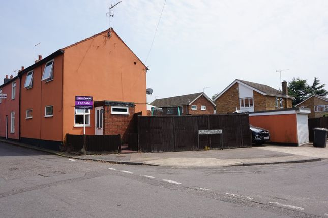 Thumbnail End terrace house for sale in Hutland Road, Ipswich