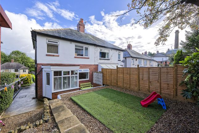 Thumbnail Semi-detached house for sale in Whitecote Rise, Leeds, West Yorkshire