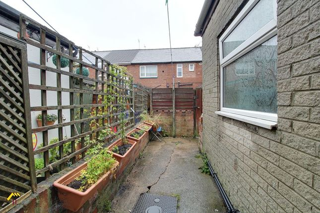 Rear Yard of Hunt Lane, Doncaster DN5