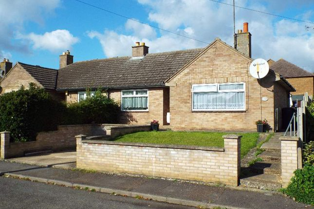 Thumbnail Semi-detached bungalow for sale in Windmill Close, Wollaston, Northamptonshire