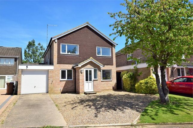 Thumbnail Detached house for sale in Isham Close, Kingsthorpe, Northampton