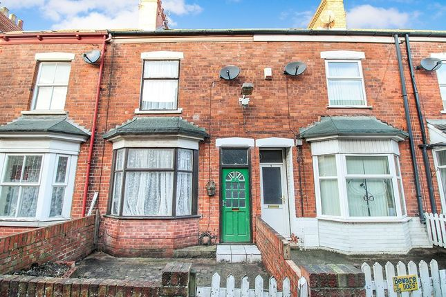 Thumbnail Terraced house for sale in Myrtle Avenue, Williamson Street, Hull