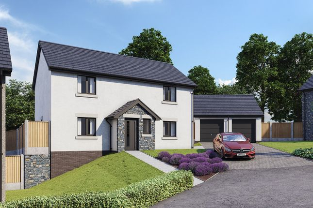 Thumbnail Detached house for sale in Hoggan Park, Brecon