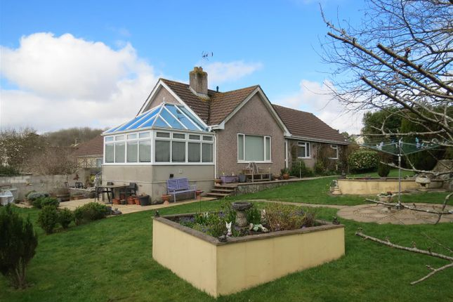 Thumbnail Detached bungalow for sale in Knightor Close, Trethurgy, St. Austell