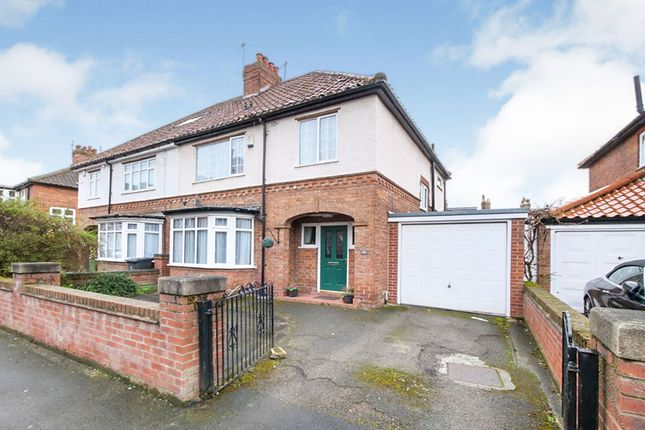 Thumbnail Semi-detached house for sale in Bootham Crescent, York, North Yorkshire