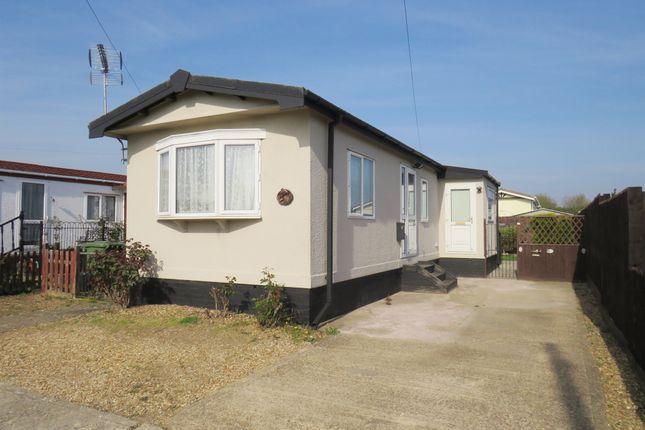 Thumbnail Mobile/park home for sale in Pioneer Caravan Site, Eye, Peterborough