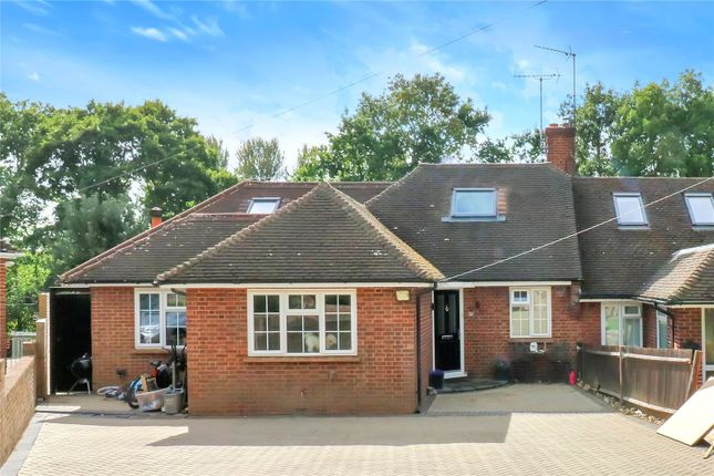 Thumbnail Semi-detached bungalow for sale in Woodlands Road, Nash Mills, Hemel Hempstead