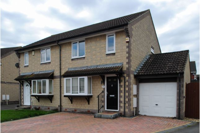 3 bed semi-detached house for sale in Hazelwood Drive, Bower Manor, Bridgwater TA6