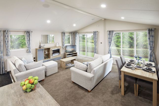 Thumbnail Lodge for sale in Skinburness Court, Silloth, Wigton