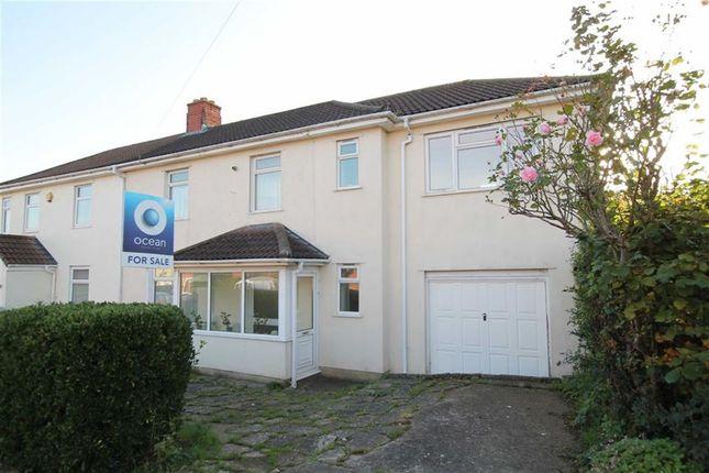 Thumbnail Semi-detached house for sale in Elberton Road, Sea Mills, Bristol
