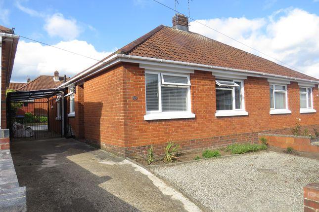 Thumbnail Semi-detached bungalow for sale in Litchfield Road, Southampton