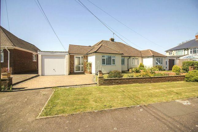 Thumbnail Semi-detached bungalow for sale in Alexandra Road, Capel-Le-Ferne, Folkestone
