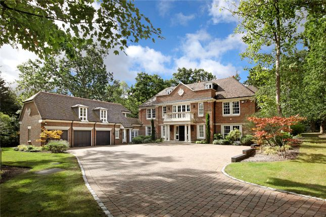 Thumbnail Detached house for sale in Priory Road, Sunningdale, Berkshire