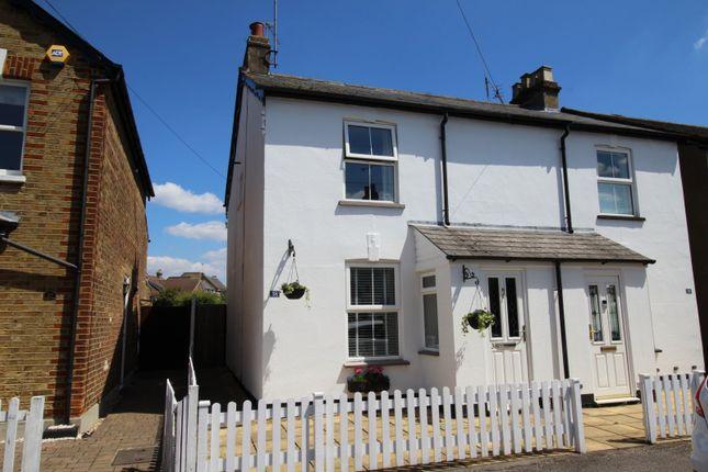 Thumbnail Semi-detached house for sale in Denham Road, Egham, Surrey